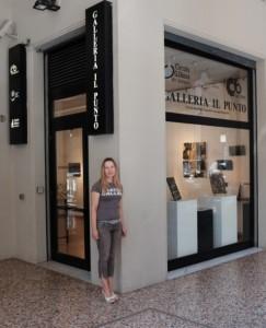 DSCF2861solo exhibition Giulia Gorlova Il Punto Art Gallery Bologna