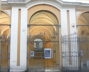 SAM_0692w._ Giulia_Gorlova_espone alla Galleria Comunale d Arte Ex Pescheria a Cesena